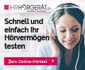Online-Hörtest Banner 300x250