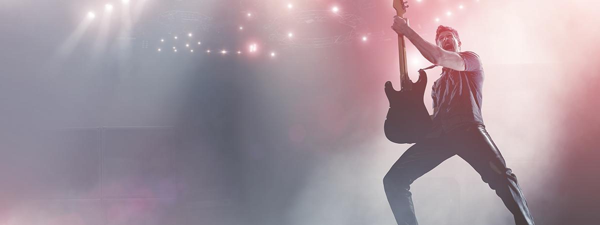 Musiker bekommen berufsbedingt ordentlich etwas auf die Ohren.
