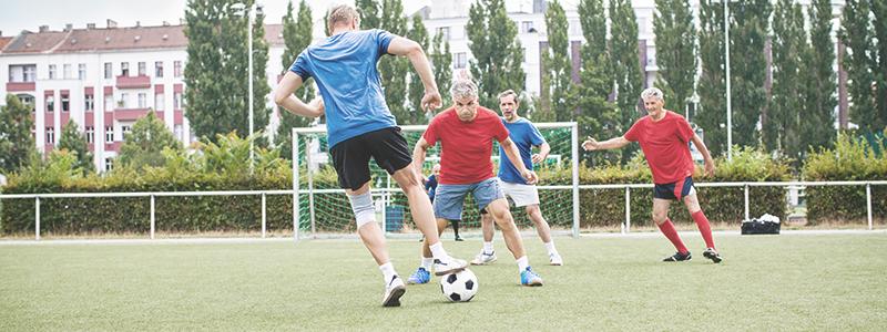 Fußballspielen mit Hörgeräten