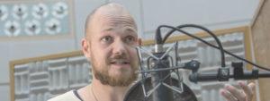 """Das Sprecherteam des Radiotatorts """"Ende der Schonzeit"""" von Hugo Rendler"""