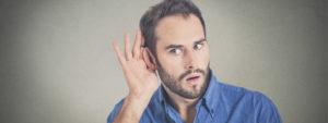 Mit eigenen Ohren hören, wie wir nicht hören möchten