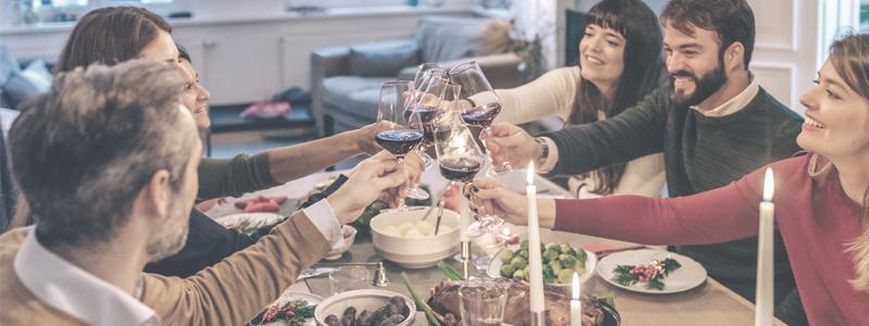 Weihnachtsmenü planen: Das Ohr isst mit