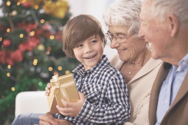 Mit dem richtigen Geschenk eine große Freude bereiten.