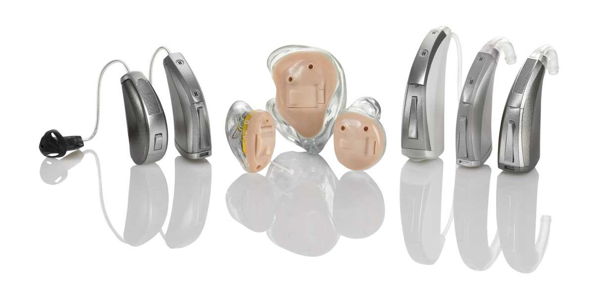 Für jedes individuelle Ohr das richtige Hörgerät.