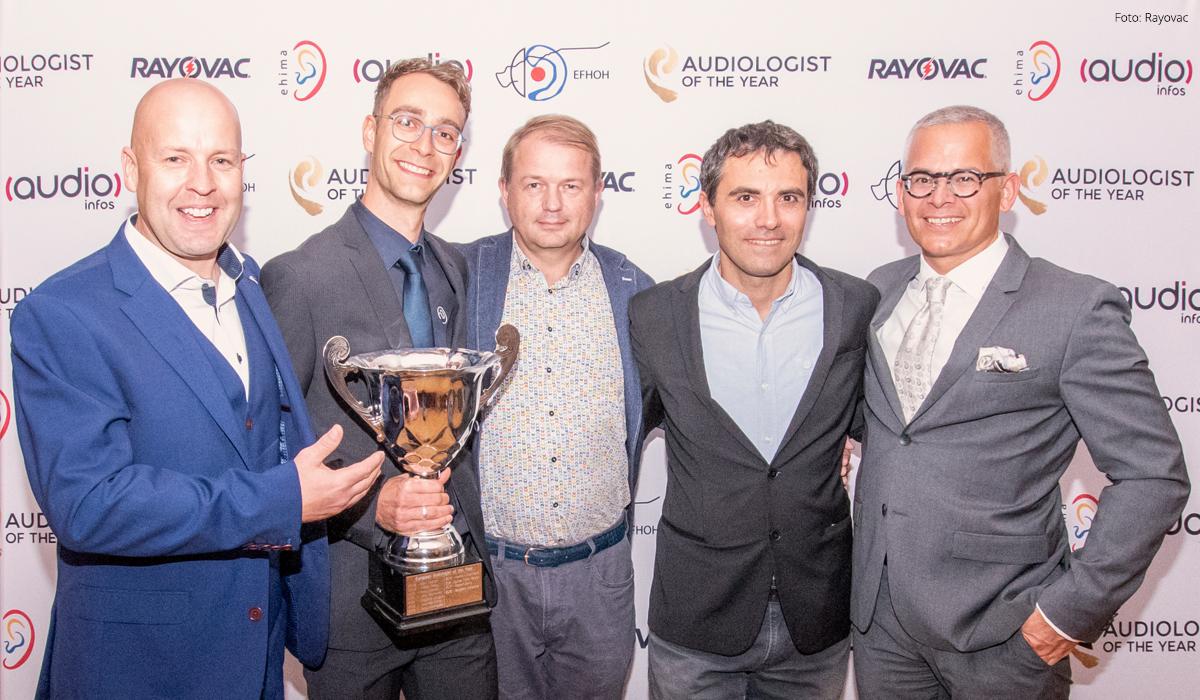 Der europäische Hörakustiker des Jahres 2018