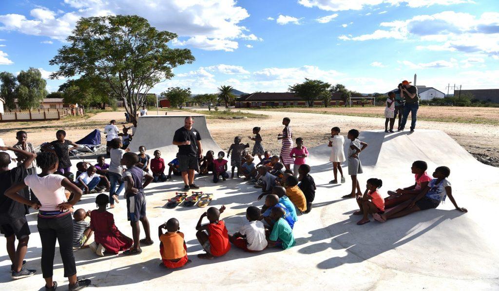 Skateboarding macht Kinder mit Hörminderung stark