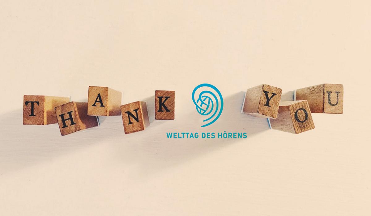 Vielen Dank für Ihr Engagement!