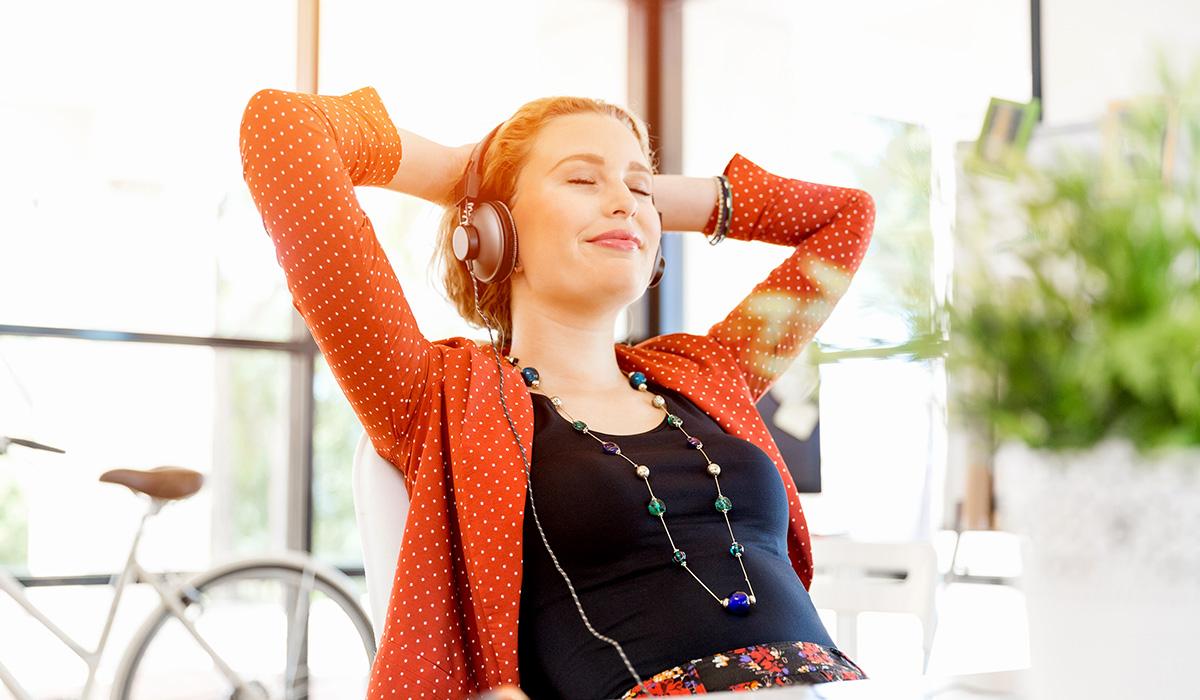 Entspannende Hintergrundgeräusche