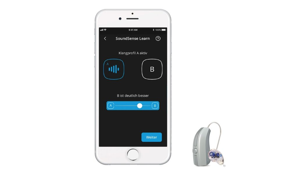 Modernste Technologie: Hörgeräte ganz einfach per Smartphone einstellen