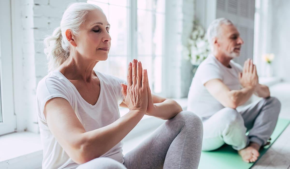 Yoga für besseres Gehör